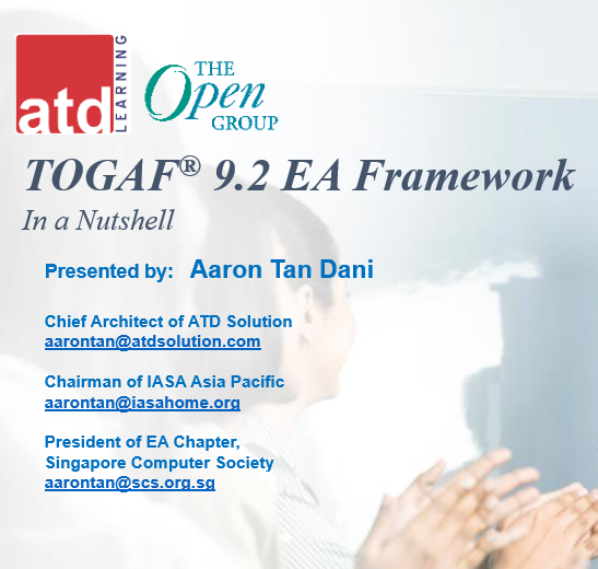 Webinar: TOGAF 9.2 in a Nutshell from Practical Perspective